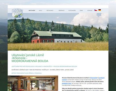 Webové stránky ubytování Janské lázně