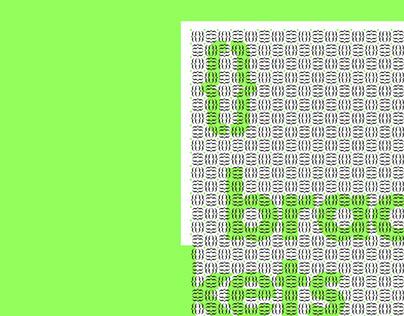 Glyph Pattern Series