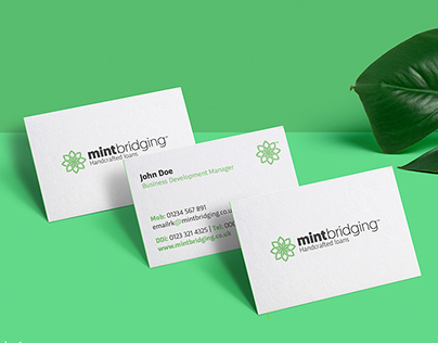 Mint Bridging. Corporate Identity