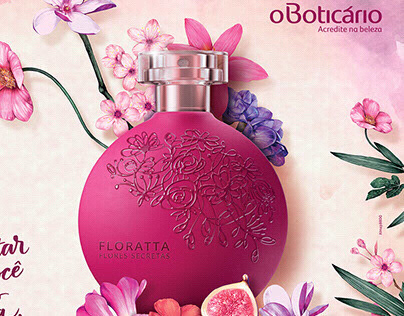 OBoticário Advertising campaign project Flores Secretas