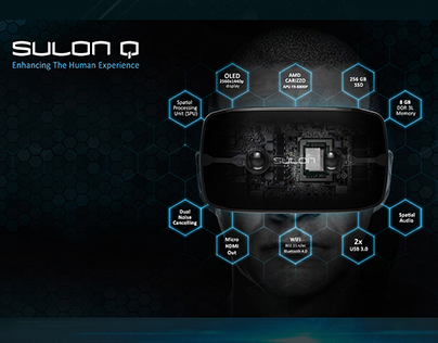 SULON Q Visuals for new VR headset