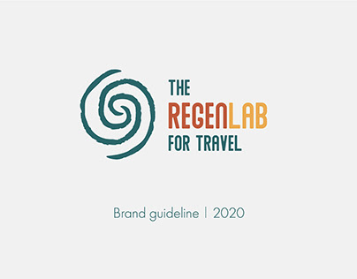 The RegenLAB for travel | Brand identity