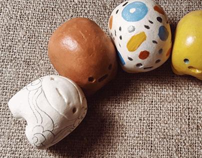 Clay miniatures (creatures)