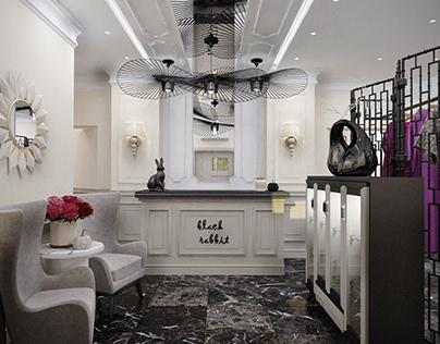 Black rabbit beauty salon