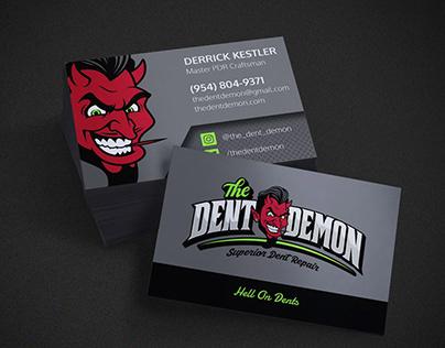 Dent Demon Business Cards