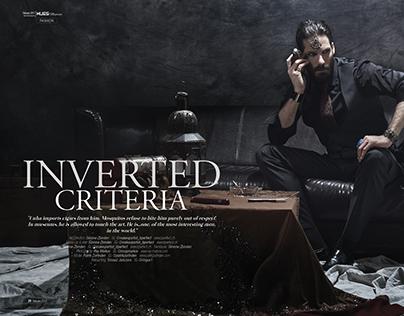 Inverted Criteria for 7Hues Magazine