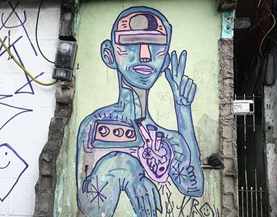 Grafiti pela cidade