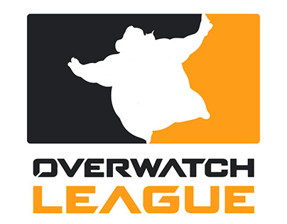 Overwatch League logo with different heroes for fun