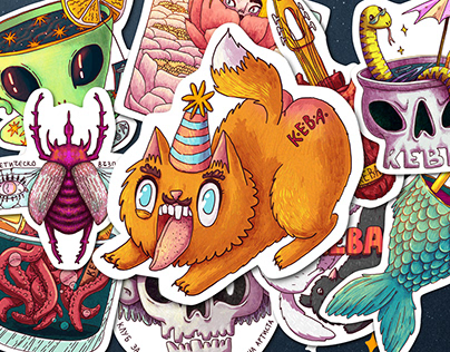 K.E.V.A. Sticker Pack