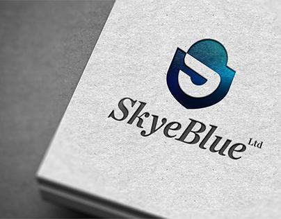 SkyeBlue Limited Logo Design