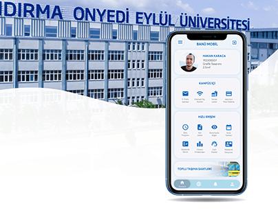 BANÜ Mobile UI/UX Design
