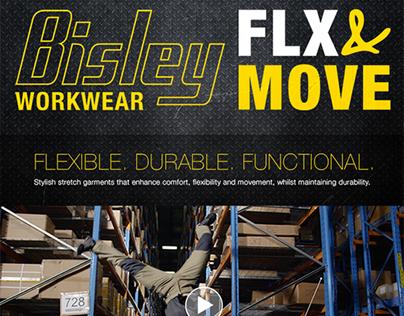 Bisley Workwear Flex & Move