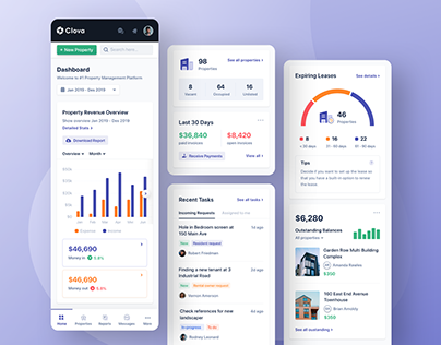 Real Estate Management Dashboard