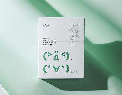 Packaging|Smiling enzyme tablet 會笑酵素纖暢錠
