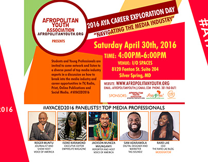 Afropolitan Youth Association - Career Exploration Day