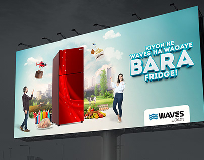 Waves Refrigerator Campaign.