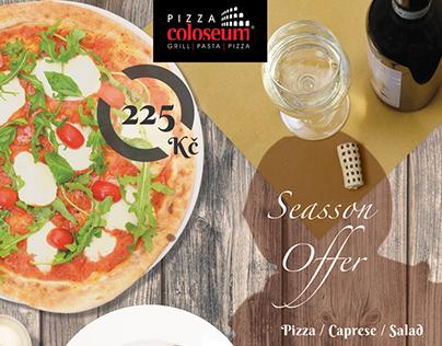 Season Offer - Pizza Coloseum