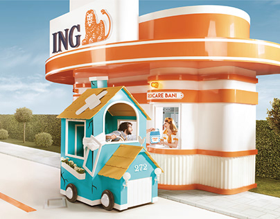 ING // Fast Loan Campaign