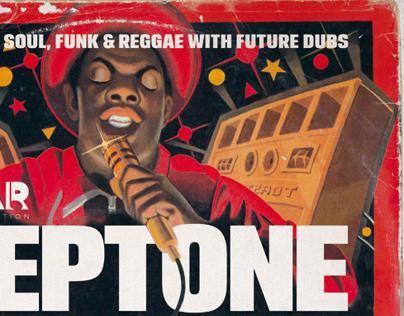 Southampton Festivals - SO:Fest Steptone Stage Poster
