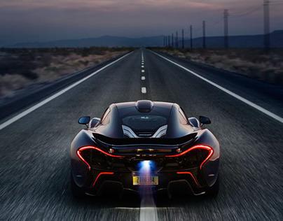 McLaren P1™ Death Valley Shoot