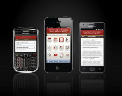 CVM-ISU Mobile Website Application