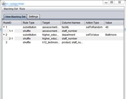 Data Scrubber Application