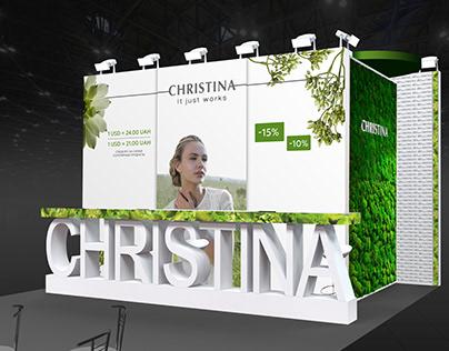 Christina Exhibition Booth