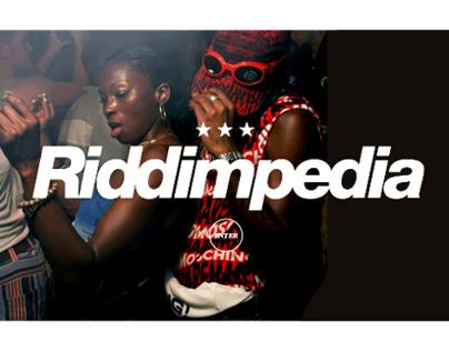 RIDDIMPEDIA   UI/UX Concept, Identity Design