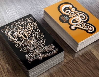 Cooper Olson Business Card Design