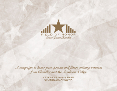Chandler Veterans Memorial Brochure