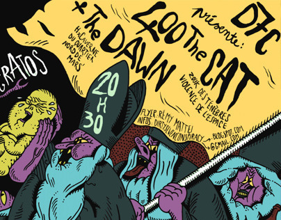 Poster : 400 The Cat + The Dawn