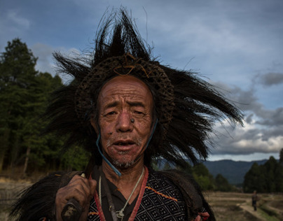 the myoko festival of the Apatani tribes in ziro