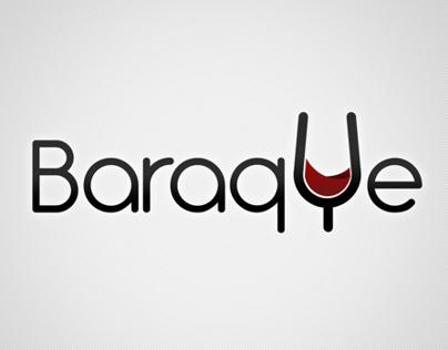 logo for BARAQUE WINE