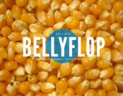 BELLYFLOP Magazine cover design (POP issue)