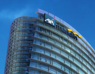 AXA TOWER ad Series 2010-2012