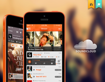Soundcloud iOS | Redesign