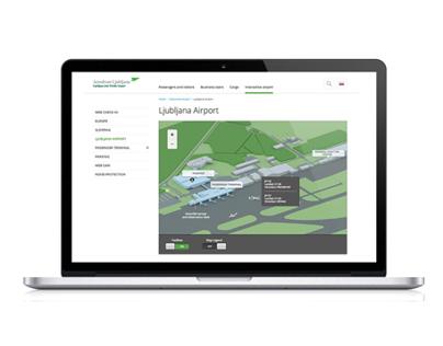 Ljubljana Airport Website & Mobile App