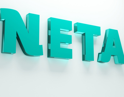 NETA logotype concept
