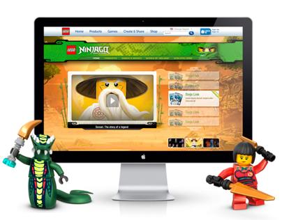 Ninjago Website 2011