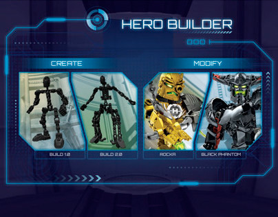 LEGO® Hero Factory - Hero Builder