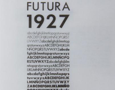 Futura. Paul Renner