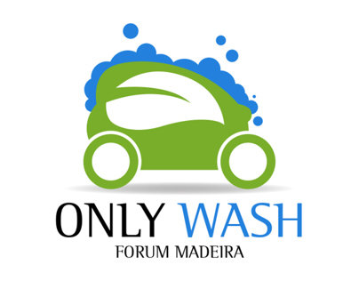 Only Wash Logo and Identity