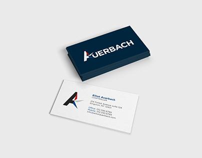 Elliot Auerbach | Logo & Branding
