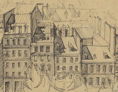 Europe in my Sketchbook
