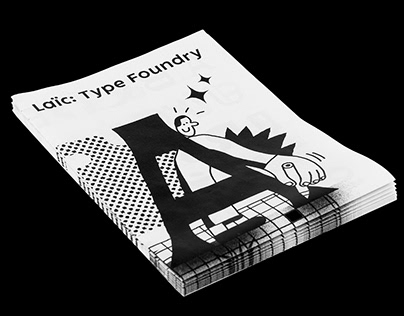 Laic Type Foundry flyer