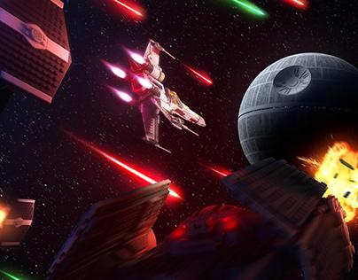 LEGO STAR WARS - Luke Skymopper Cover Art