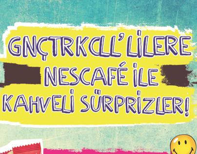 Gnctrkcll - Nescafe / kampüs etkinlikleri