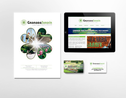 Granada Jardín | Corporate identity