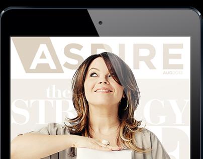 ASPIRE iPad Magazine August 2013