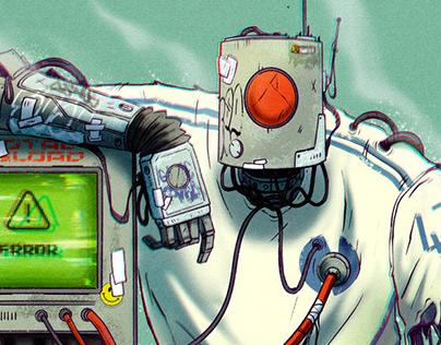 MECANICA - Bots illustrations